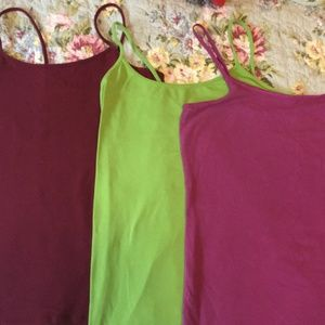PACK OF 3 - COLORFUL TANKS